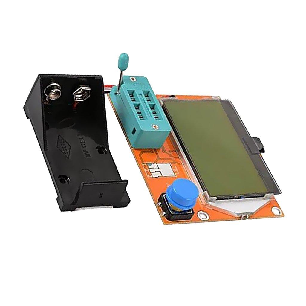 MagiDeal LCD Graphica Transistor Tester DIY Diode Triode Capacitance Display Module LCR ESR Meter