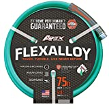 "Apex 8550-75' Flex Alloy Garden Hose, 5/8"" Review and Comparison"