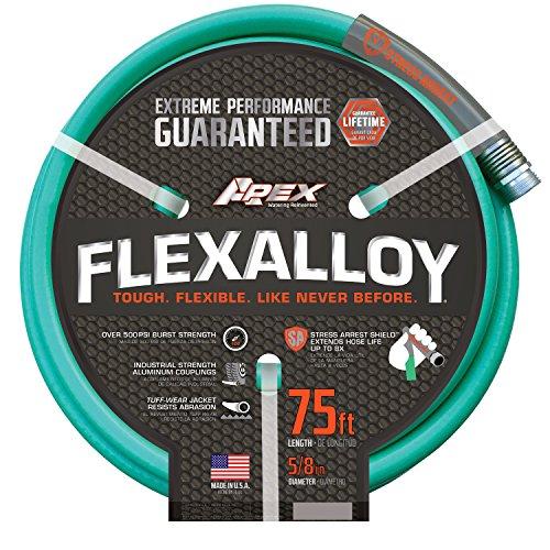 "Apex, 8550-75' Flexalloy Water Hose, 5/8"" by 75'"