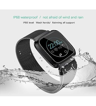 Amazon.com : ZDMSEJ Smart Watch with Bluetooth, Fitness ...