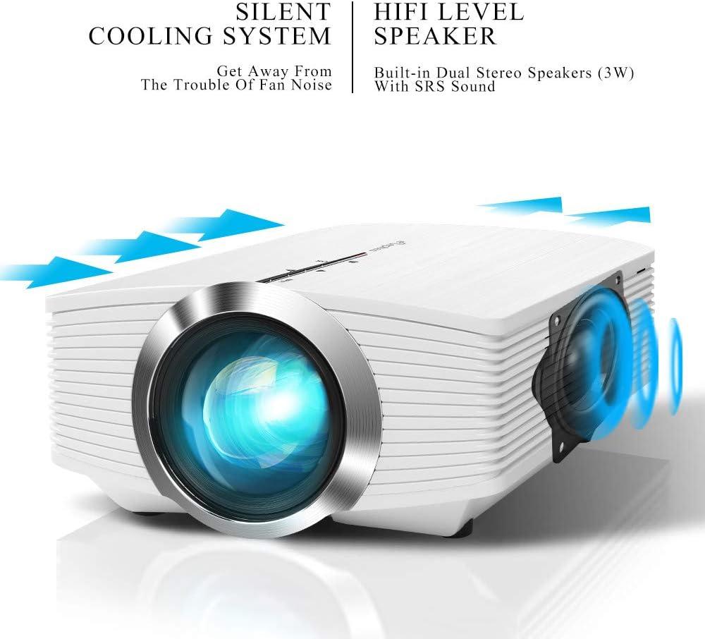 Amazon.com: ELEPHAS 3200 Lux Mini Projector, Home Theater ...