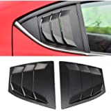 YUZHONGTIAN 2014-2018 for Mazda 3 M3 Axela Car Accessories Quarter Side Window Scoop Louvers Cover Vents ABS 2PCS (Matte…