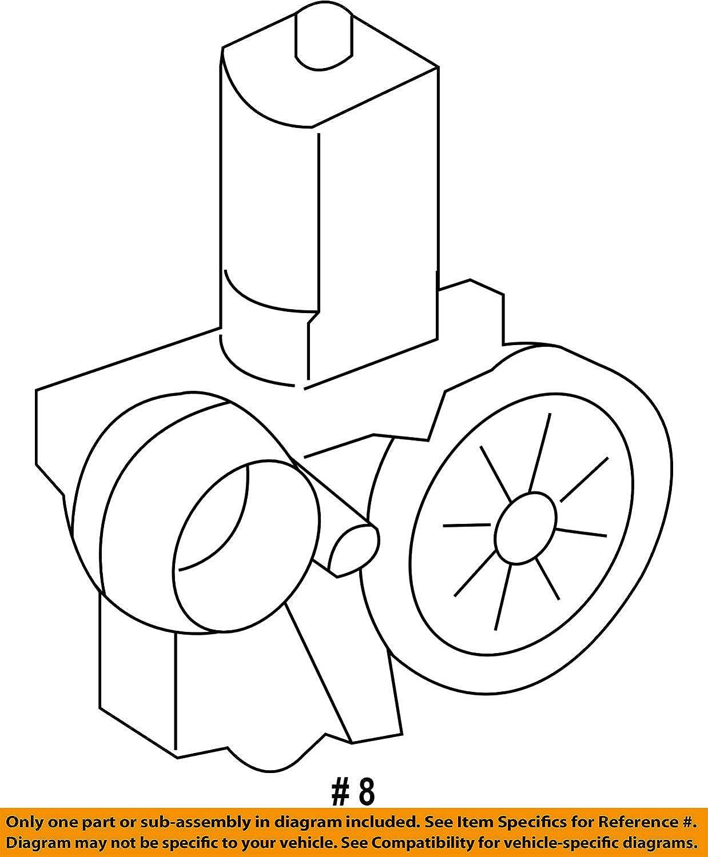 Toyota 85720-21050 Power Window Regulator Motor Assembly
