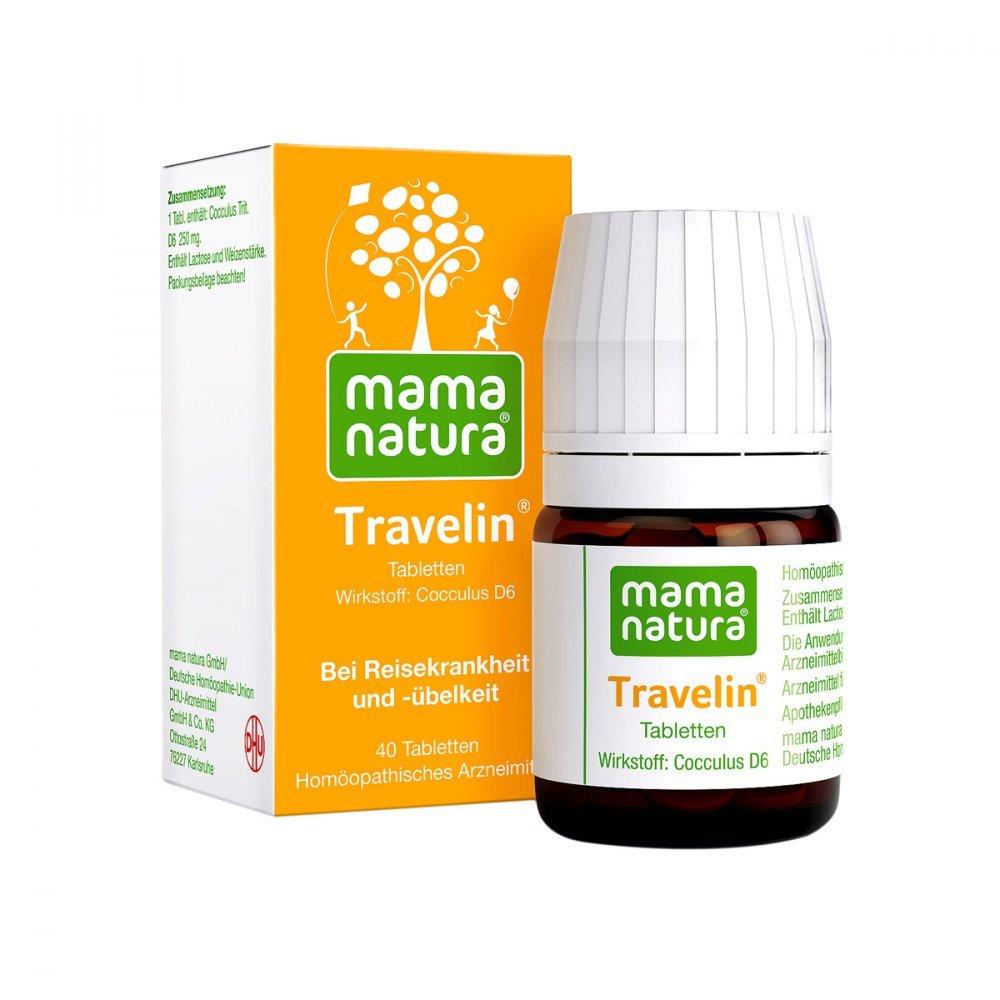Mama natura Travelin Tabletten, 40 St.