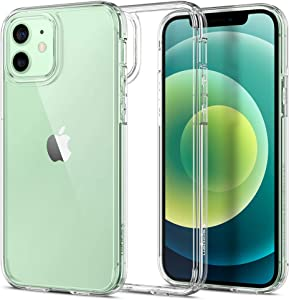 Spigen Ultra Hybrid Designed for Apple iPhone 12 Case (2020) / Designed for iPhone 12 Pro Case (2020) - Crystal Clear