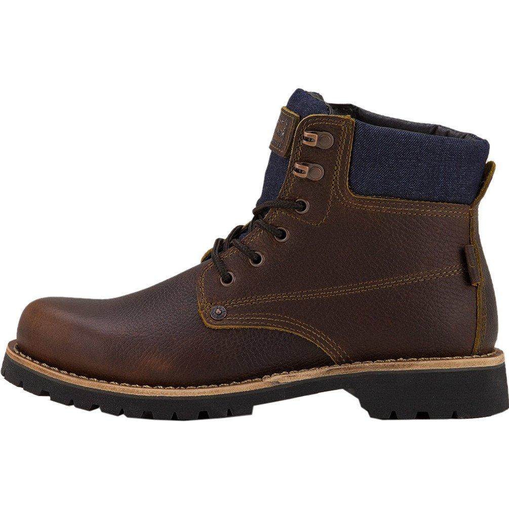 Levis Jackson Boots UK 7 Dark Brown