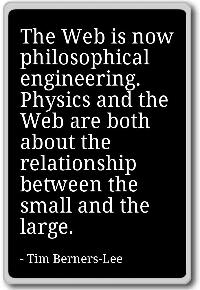 The Web è Ora Ingegneria Filosofica P Tim Berners Lee
