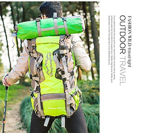 80l Dos Sac 50l Trekking Voyage À Camping Étanche Idéal 80l Dos Vert Alpinisme Reiseklettern Randonnée Travel Outdoor Sport Bergsteigta Mymm Sche Pour twRq4XX