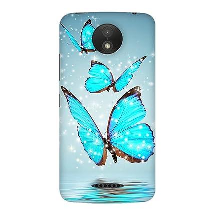 new concept a7bc1 56222 Fasheen Designer Soft Case Mobile Back Cover for Motorola Moto C Plus,  Print No. SKU_417