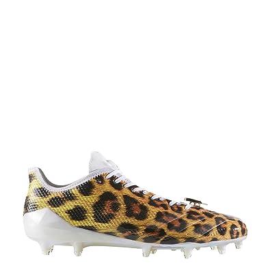 Amazon | adidas Adizero 5Star 6 0 Uncaged Cleat Men's Football 9 5  LeopardWhiteGold Metallic | Shoes