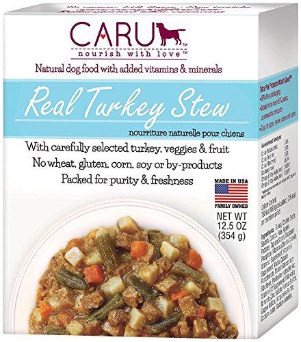 Caru Real Turkey Stew - Turkey - 12X12.5 Ounces