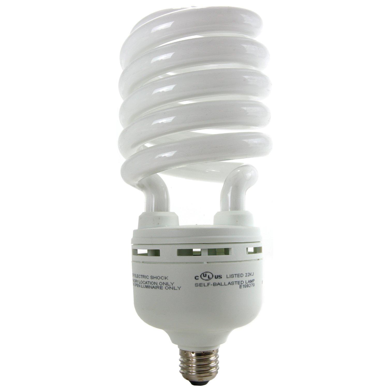 Sunlite SL85/65K/MED 85-Watt High-Wattage Spiral Energy Saving CFL Light Bulb Medium Base 120 Volt Daylight