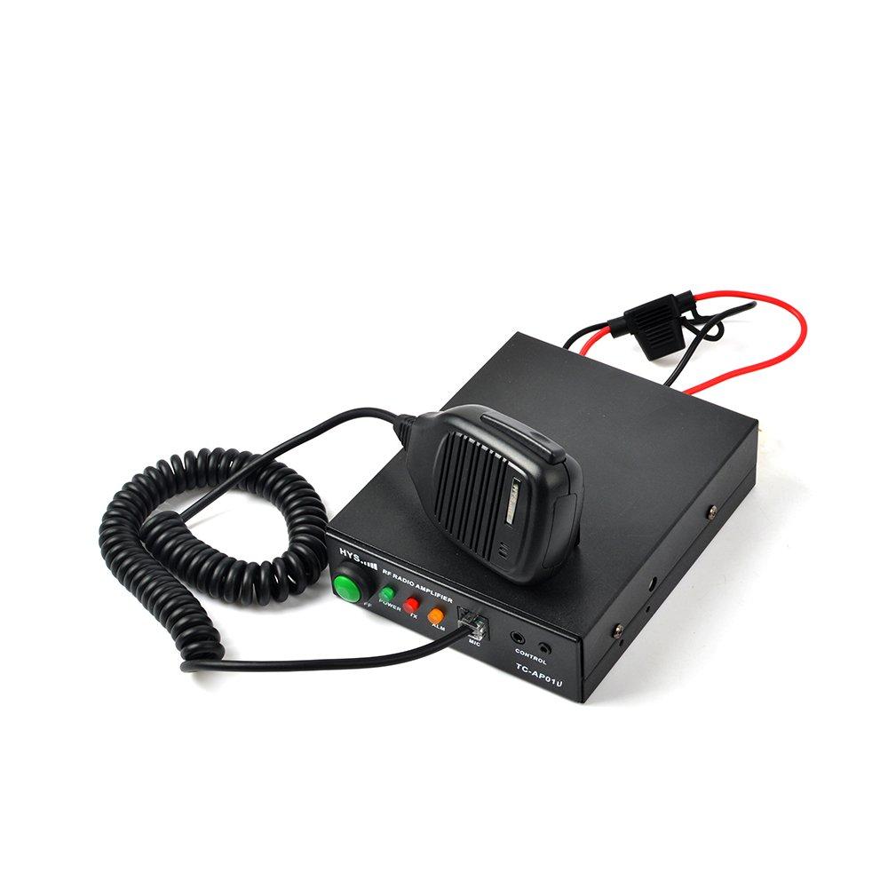 HYS 25W 400-470Mhz 70cm UHF HandHeld Radio High Power Amplifier for Motorola GP328 GP338 PRO5150 PRO7150 GP320 Walkie Talkie by HYS (Image #1)