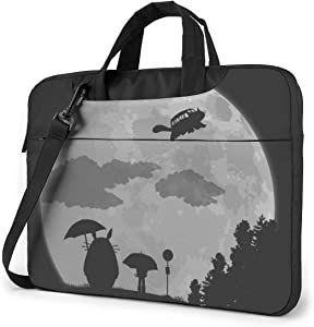 Anime My Totoro Laptop Sleeve Bag Case 14 inch MacBook Air Pro Notebook Sleeve Case Portable Briefcase Tote Cases