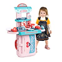 Doctor Kits for Kids Play Medical Set Toys Indoor Family Games Dress Up Costume...