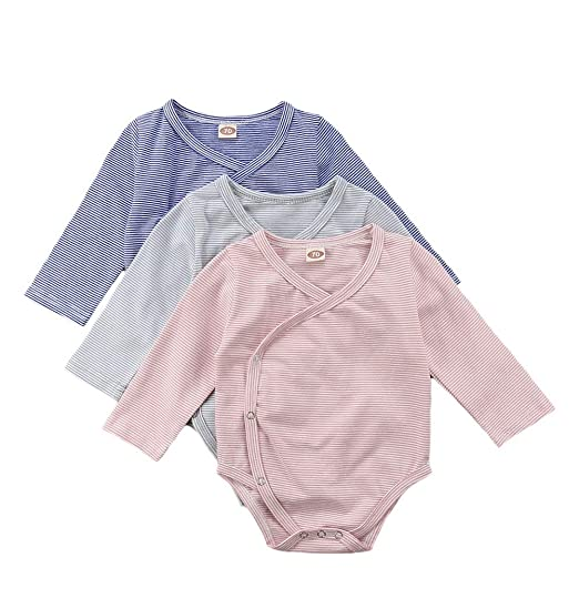 9c52931b311a Amazon.com  Gobrillant Newborn Toddler Baby Boys Girls Pajamas ...