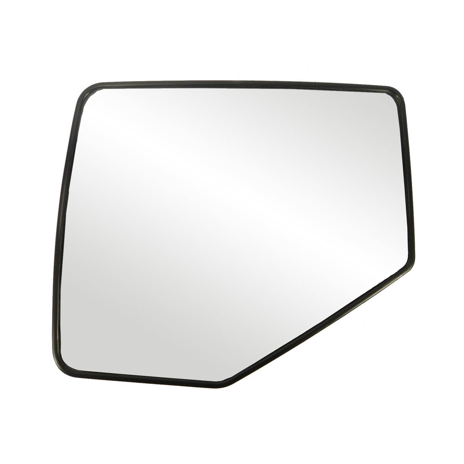 Fit System 88209 Ford/Mercury Left Side Manual/Power Replacement Mirror Glass with Backing Plate