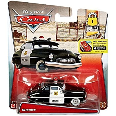 Disney/Pixar Cars, 2016 Sheriff's Impound Lot, Sheriff Die-Cast Vehicle: Toys & Games