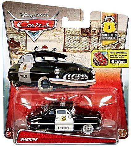 Amazon Com Disney Pixar Cars 2016 Sheriff S Impound Lot Sheriff