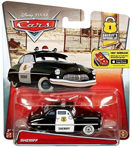 (Disney/Pixar Cars, 2016 Sheriff's Impound Lot, Sheriff Die-Cast Vehicle )