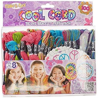 Janlynn Cool Cord Friendship Bracelet Pack, Makes 100 Bracelets: Arts, Crafts & Sewing