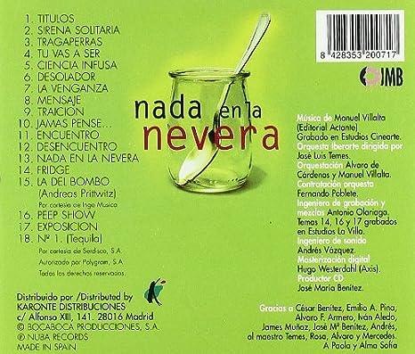 Nada En La Nevera: Manuel Villalta: Amazon.es: Música