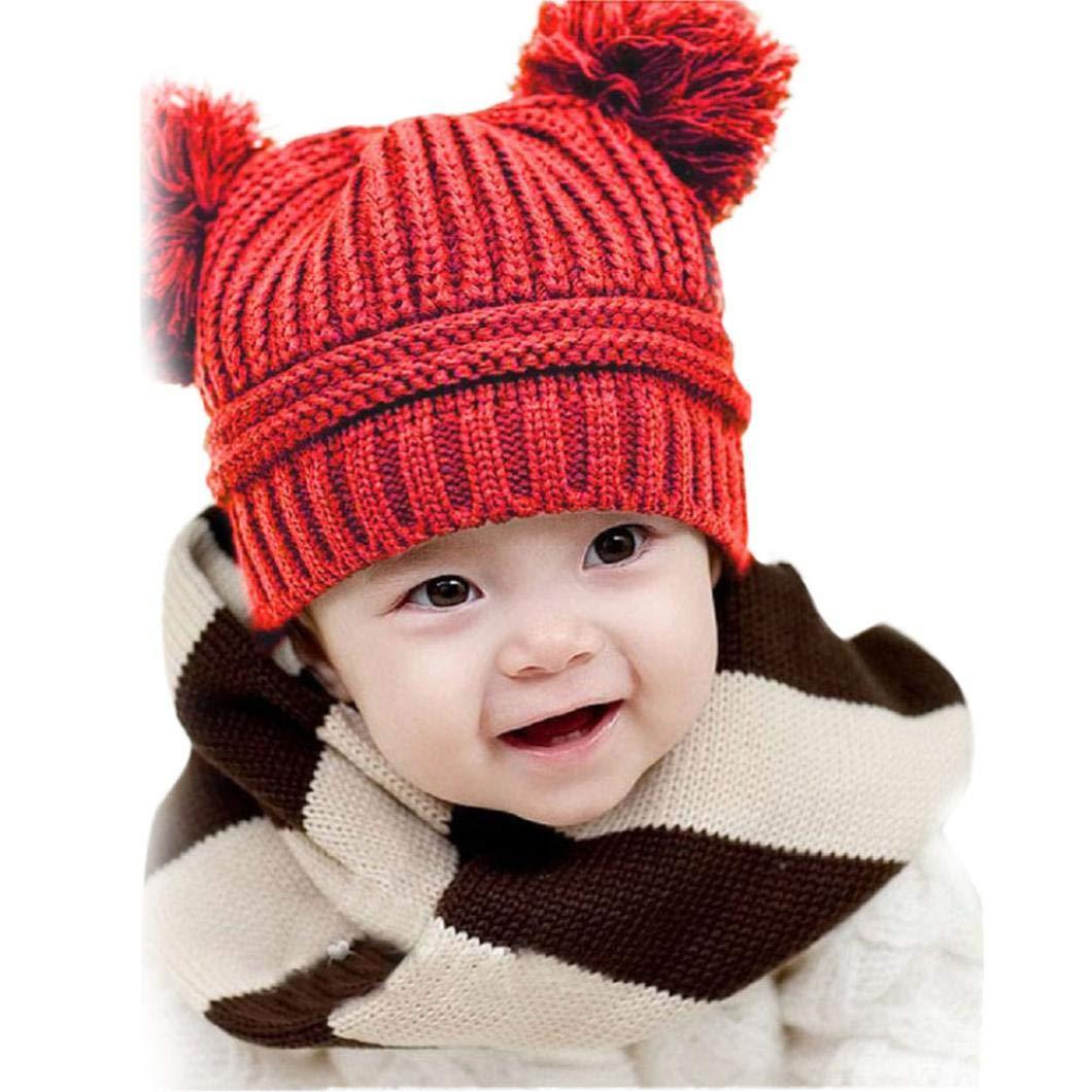 Amazon.com  Vicbovo Baby Winter Hat 1bf0e22f5899