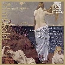 Debussy: Sonata for Flute, Viola & Harp; Syrinx; Chansons de Bilitis; Prélude à l'après-midi d'un faune (transcription for flute & piano by Gustave Samazeuilh)