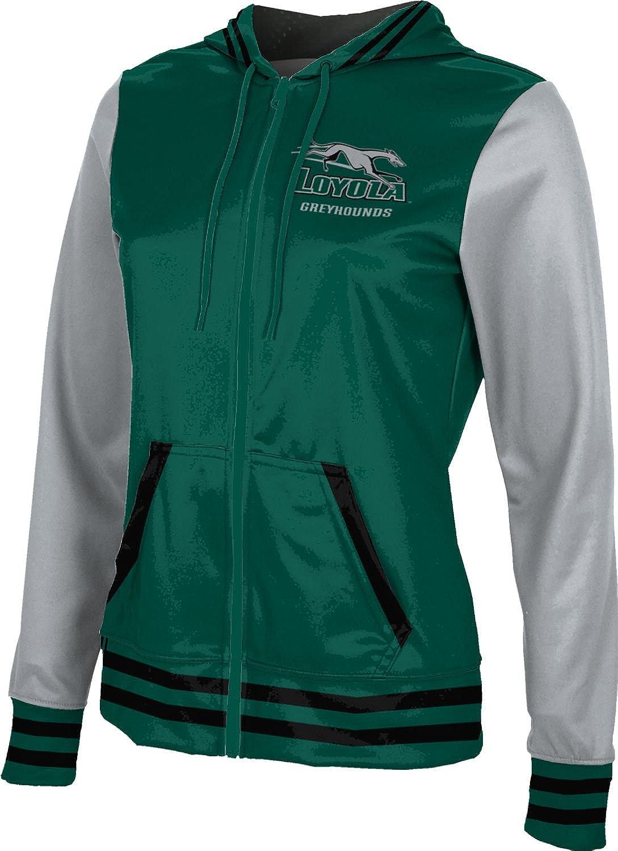 ProSphere Loyola University Maryland Girls Zipper Hoodie Letterman School Spirit Sweatshirt