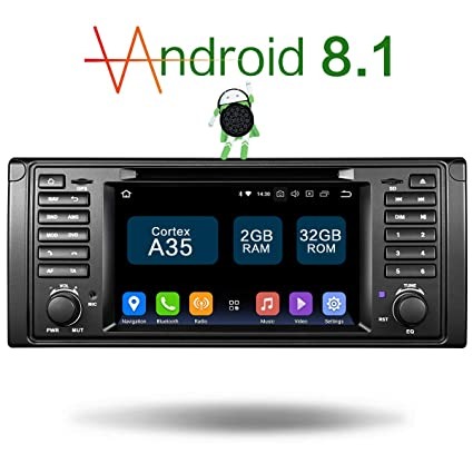 Amazon com: Amaseaudio Upgrade Android 8 1 Double Din 7 inch TFT LCD