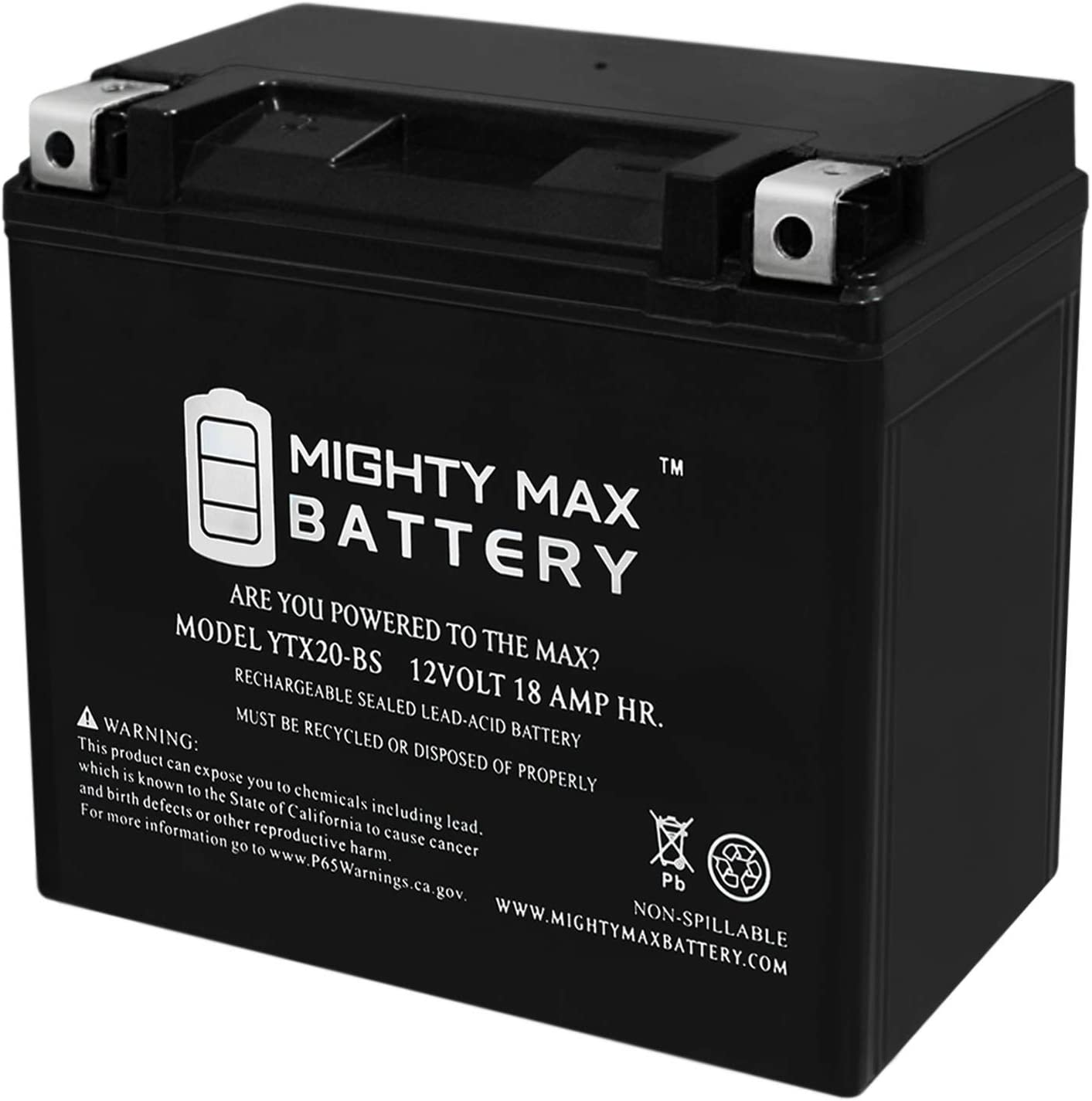 Mighty Max Battery 12V 18Ah Battery for Arctic Cat Sabercat 500 2004-2006 Brand Product