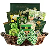 GreatArrivals Luck O' The Irish Small St. Patrick's Day Gourmet Gift Basket, 4 Pound
