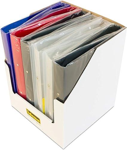 Idena 90020 - Archivador de anillas (A4, 2 anillas, lomo de 35 mm, 12 unidades), colores surtidos: Amazon.es: Oficina y papelería