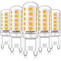 Bombillas LED G9 de 5W Equivalente a 33W 40W Lampara Halógena,Blanco Cálido…