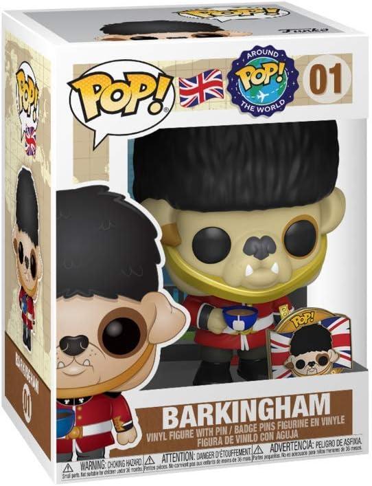 Funko Around The World UK Barkingham POP Vinyl Figure with Pin #1