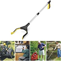 Reacher ,Rotating 32 inch Long Handy Pick up tools,ideal for Pick item Up. (1*Piece, Yellow)