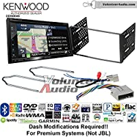 Volunteer Audio Kenwood Excelon DNX694S Double Din Radio Install Kit with GPS Navigation System Android Auto Apple CarPlay Fits 2003-2011 Crown Victoria, 2005-2007 Escape