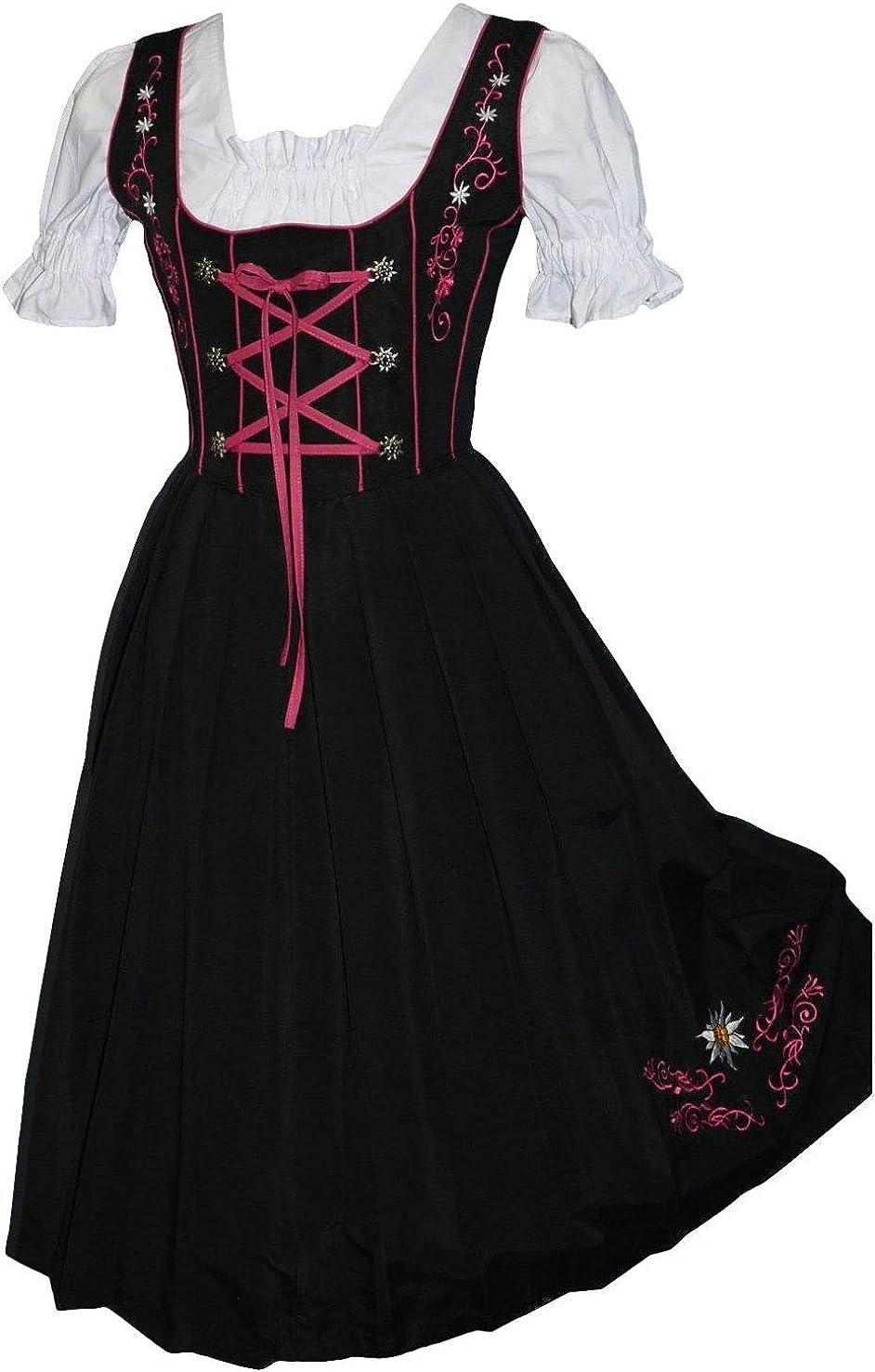 Amazon.com: Vestido largo de 3 piezas de Edelweiss Creek ...