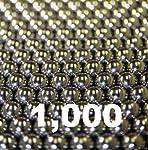 1000 bolas de rodamiento de acero chapado en cromo de 5/32 pulgadas G25