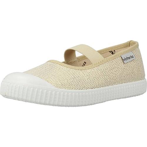 Zapatillas para niña, Color Plateado, Marca VICTORIA, Modelo ...