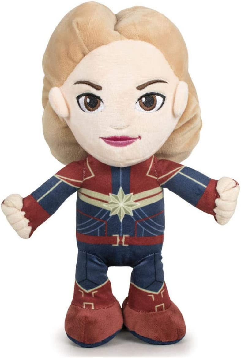 Play by Play Peluche Capitana Marvel, 32 cm: Amazon.es: Juguetes y ...