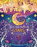 #10: You Are Made of Stars: Inspirational Quotes Adult Coloring Book (Coloring Books for Women and Girls)