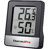 ThermoPro TP49 digital inomhushygrometer mini rum termometer temperaturmonitor och fuktighetsmätare temperatur…