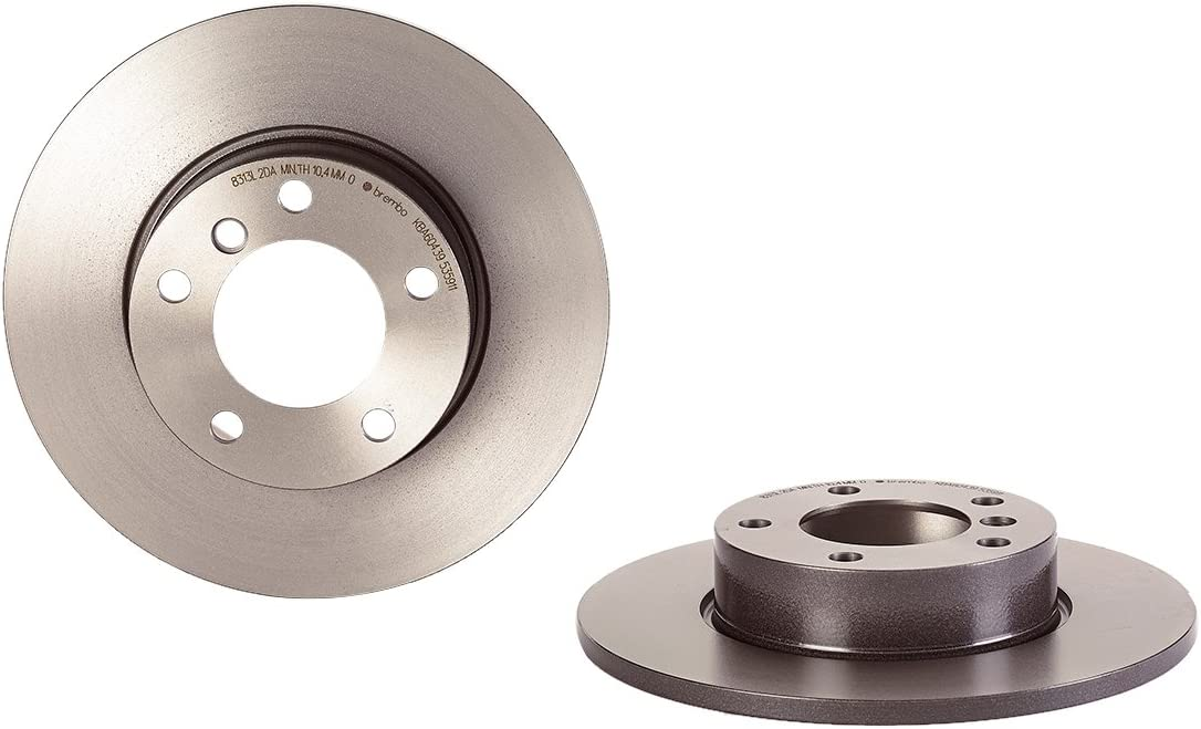 Brembo 09.A353.11 UV Coated Front Disc Brake Rotor