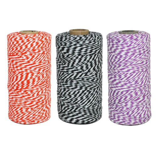 Dress My Cupcake Baker's Twine Roll, Halloween Collection,