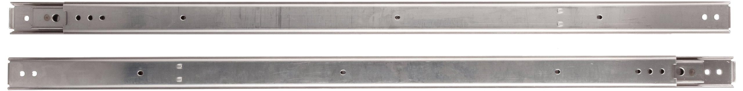 Sugastune ESR-6 304 Stainless Steel Drawer Slide, Full Extension, Positive Stop, 28'' Closed, 28-13/16'' Travel, 99lbs/Pack (1 Pair) by LAMP by Sugatsune