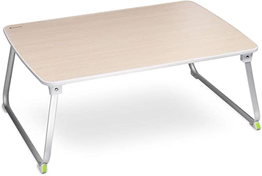 SALCAR Escritorio Plegable para portátil, Mesa Plegable para ...