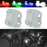 Autopon Bicycle Lights, Bike Light, LED Bike Lights Front and Back, Mountain Bike Lights, Dog Collar Light, Running…