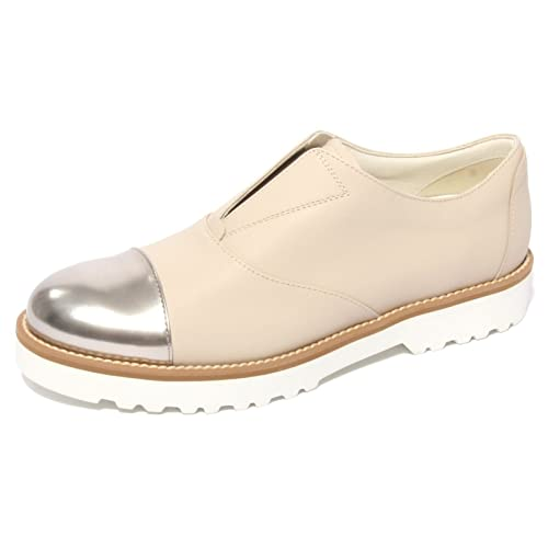 B0661 sneaker donna HOGAN ROUTE slipon beige shoe woman
