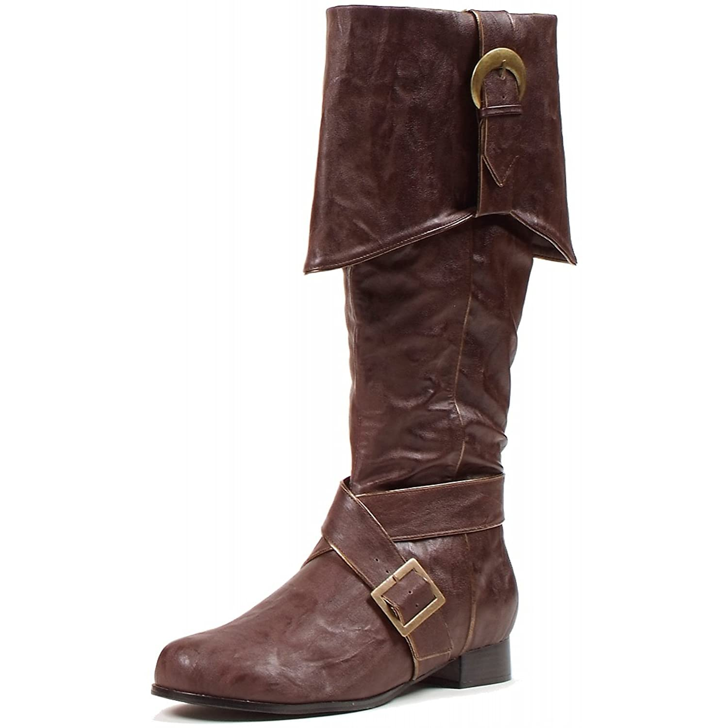 121-Jack Knee High Boots Costume Shoes - Large
